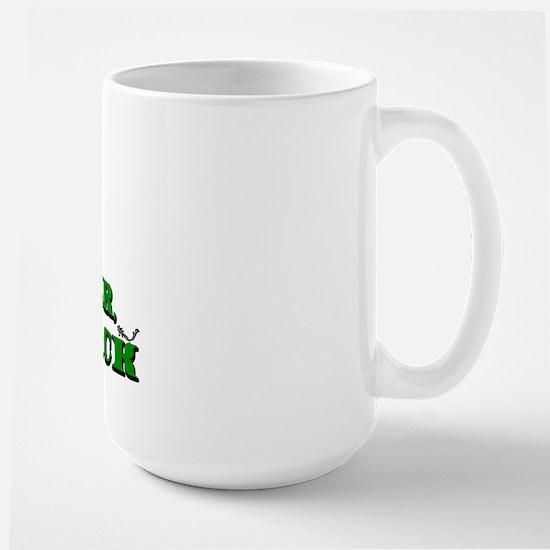 Mortimer we're back. Large Mug