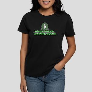 Mortimer we're back. Women's Dark T-Shirt