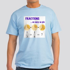Fractions Light Color T-Shirt