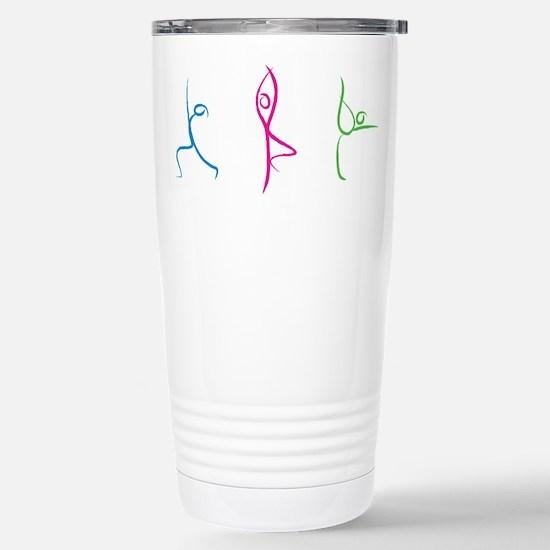 Yoga Poses Travel Mug