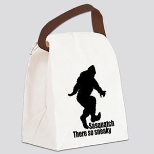 Sneaky Sasquatch Canvas Lunch Bag