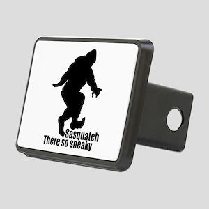 Sneaky Sasquatch Rectangular Hitch Cover