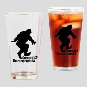 Sneaky Sasquatch Drinking Glass