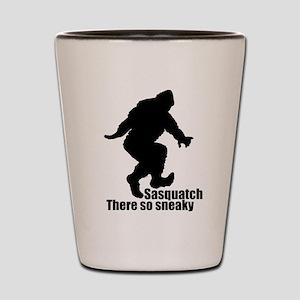 Sneaky Sasquatch Shot Glass