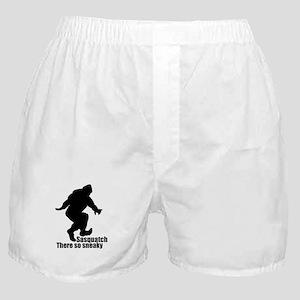 Sneaky Sasquatch Boxer Shorts