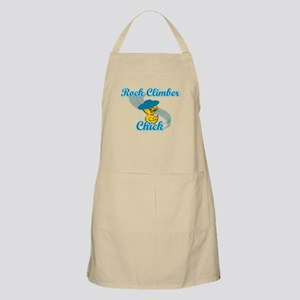 Rock Climber Chick #3 Apron