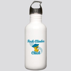 Rock Climber Chick #3 Stainless Water Bottle 1.0L