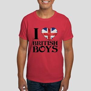 I love heart British Boys T-Shirt