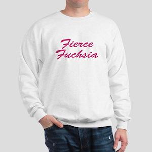 Fierce Fuchsia Sweatshirt