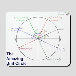 Amazing Unit Circle Mousepad