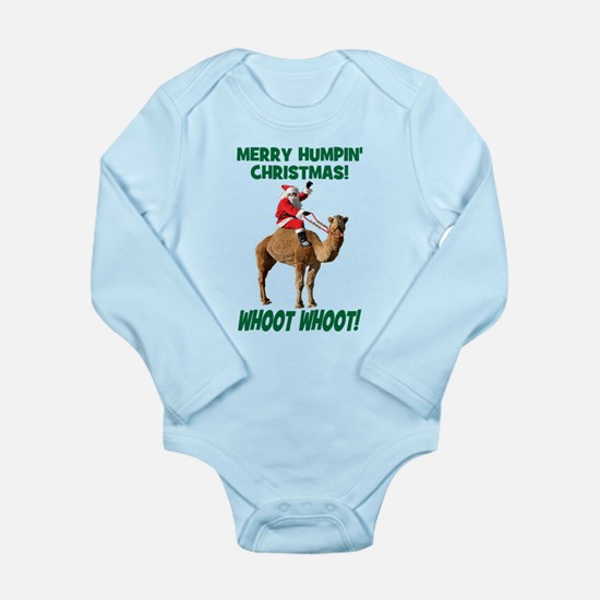 Merry Humpin Christmas Santa Hump Day Camel Body S