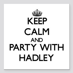 Keep Calm and Party with Hadley Square Car Magnet