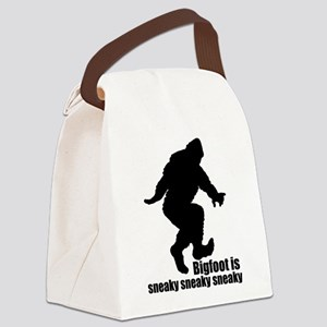 Bigfoot is sneaky sneaky Canvas Lunch Bag