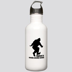 Bigfoot is sneaky sneaky Stainless Water Bottle 1.