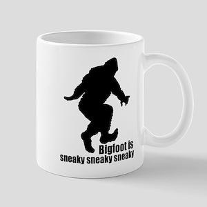 Bigfoot is sneaky sneaky Mug