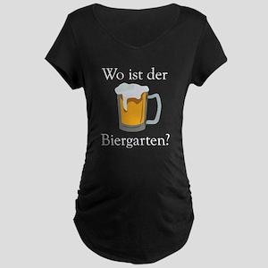 Biergarten Maternity T-Shirt