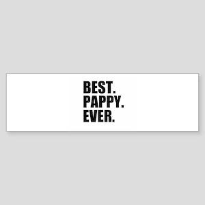 Best Pappy Ever Bumper Sticker