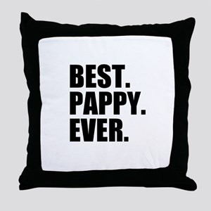 Best Pappy Ever Throw Pillow