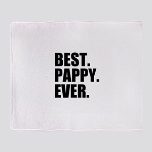 Best Pappy Ever Throw Blanket