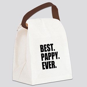 Best Pappy Ever Canvas Lunch Bag