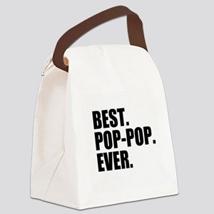 Best Pop-Pop Ever Canvas Lunch Bag