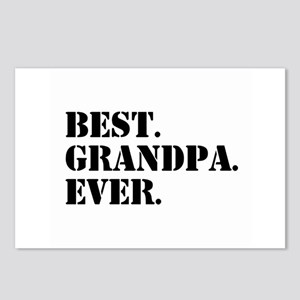 Best Grandpa Ever Postcards (Package of 8)