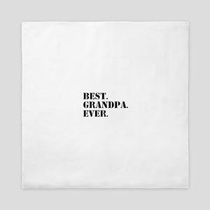 Best Grandpa Ever Queen Duvet