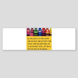 crayonstaller Bumper Sticker