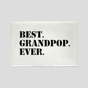 Best Grandpop Ever Magnets