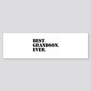 Best Grandson Ever Bumper Sticker