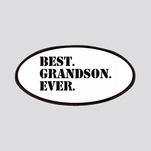 Best Grandson Ever Patches