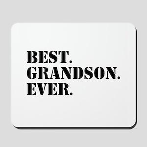 Best Grandson Ever Mousepad
