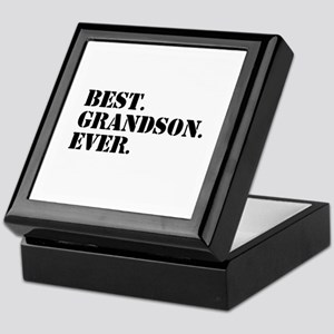 Best Grandson Ever Keepsake Box