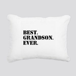Best Grandson Ever Rectangular Canvas Pillow