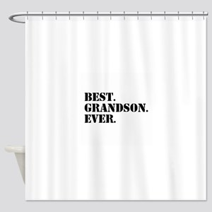 Best Grandson Ever Shower Curtain