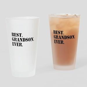 Best Grandson Ever Drinking Glass