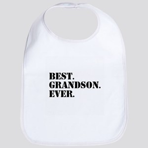 Best Grandson Ever Bib