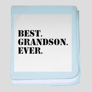 Best Grandson Ever baby blanket