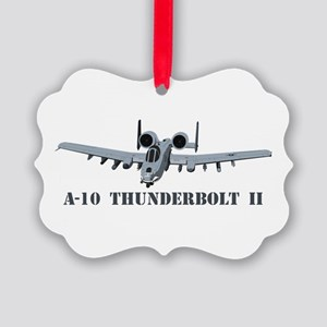 A-10 Thunderbolt II Picture Ornament