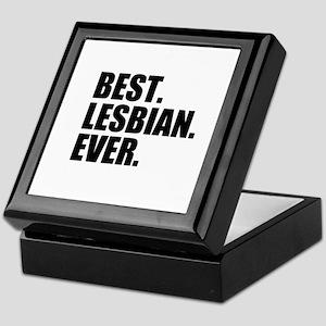 Best Lesbian Ever Keepsake Box