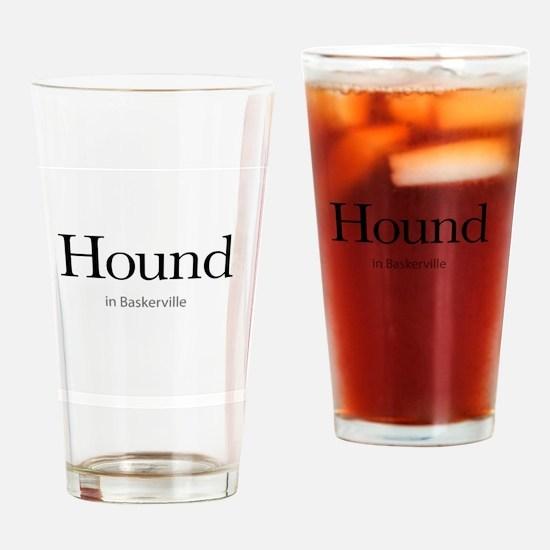Hound in Baskerville Drinking Glass
