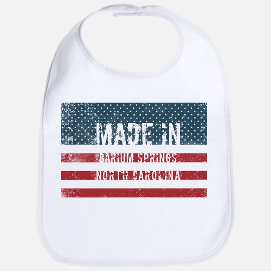 Made in Barium Springs, North Carolina Baby Bib