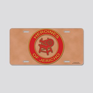 Heroines of Jericho Aluminum License Plate