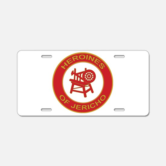 Heroines of Jericho Aluminum License Plate