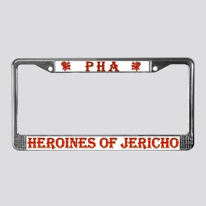 Heroines of Jericho License Plate Frame