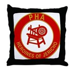 Heroines of Jericho Throw Pillow