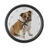 English bulldog Wall Clocks