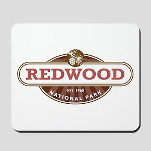 Redwood National Park Mousepad