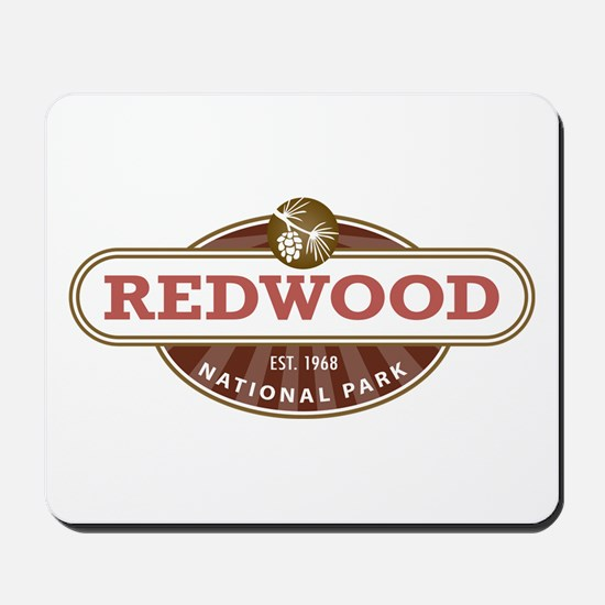 Redwood National Park Mousepad