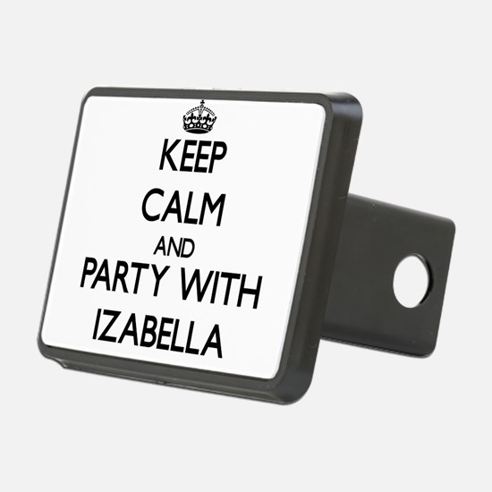 Keep Calm and Party with Izabella Hitch Cover